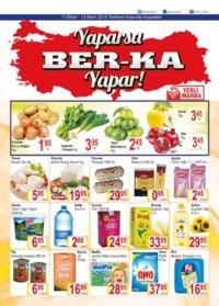 Grup Ber-ka Market 11 - 14 Ekim 2018 Kampanya Broşürü! Sayfa 1