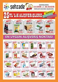 Şehzade Market 24 Ekim - 06 Kasım 2018 Kampanya Broşürü! Sayfa 1
