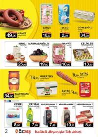 Özpaş Market 18 - 31 Ekim 2018 Kampanya Broşürü! Sayfa 2