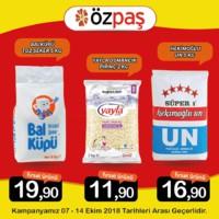Özpaş Market 07 - 14 Ekim 2018 Kampanya Broşürü! Sayfa 2