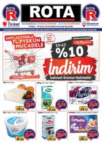 Rota Market 25 Ekim - 07 Kasım 2018 Kampanya Broşürü! Sayfa 1 Önizlemesi