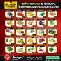 Emirgan Market 20 - 21 Ekim 2018 Kampanya Broşürü! Sayfa 1