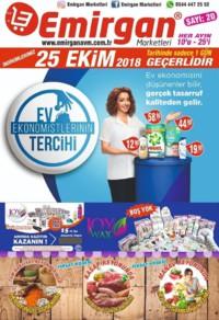 Emirgan Market 25 Ekim 2018 Kampanya Broşürü! Sayfa 1