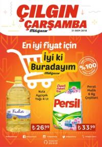 Milli Pazar Market 31 Ekim 2018 Kampanya Broşürü! Sayfa 1