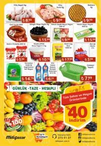 Milli Pazar Market 31 Ekim 2018 Kampanya Broşürü! Sayfa 2