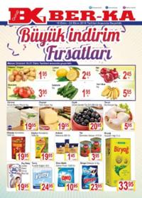 Grup Ber-ka Market 18 - 24 Ekim 2018 Kampanya Broşürü! Sayfa 1