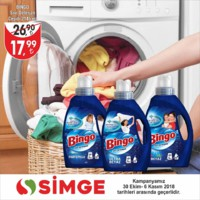 Simge 30 Ekim - 06 Kasım 2018 Fırsat Broşürü Sayfa 1