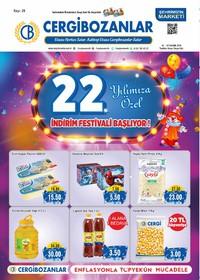 Cergibozanlar 01 - 07 Kasım 2018 Kampanya Broşürü! Sayfa 1