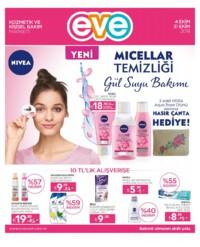 Eve Kozmetik 04 - 31 Ekim 2018 Kampanya Broşürü! Sayfa 1
