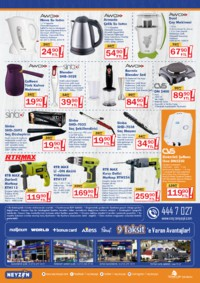 Neyzen Yapı Market 19 Ekim - 30 Kasım 2018 Kampanya Broşürü! Sayfa 2 Önizlemesi