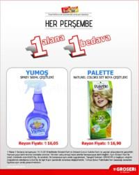 Groseri 18 Ekim 2018 1 Alana 1 Bedava Kampanya Broşürü! Sayfa 2