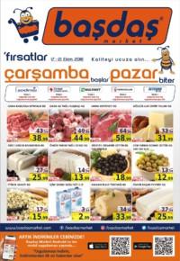 Başdaş Market 17 - 21 Ekim 2018 Kampanya Broşürü! Sayfa 1