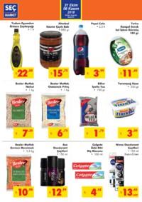 Seç Market 31 Ekim - 06 Kasım 2018 Kampanya Broşürü! Sayfa 2