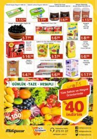 Milli Pazar Market 24 Ekim 2018 Kampanya Broşürü! Sayfa 2