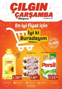 Milli Pazar Market 24 Ekim 2018 Kampanya Broşürü! Sayfa 1