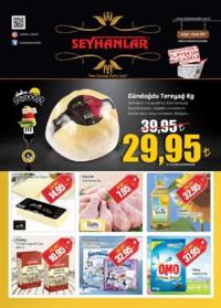 Seyhanlar Market Zinciri 24 Ekim - 05 Kasım 2018 Kampanya Broşürü! Sayfa 1