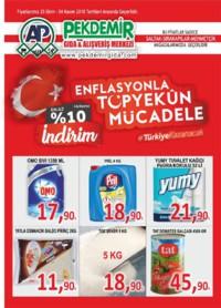 Pekdemir 25 Ekim - 04 Kasım 2018 Kampanya Broşürü! Sayfa 1