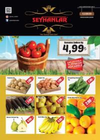 Seyhanlar Market Zinciri 19 - 22 Ekim 2018 Kampanya Broşürü! Sayfa 1