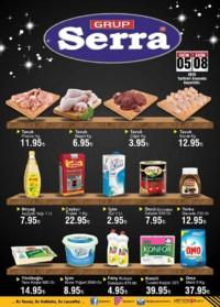 Serra Market 05 - 08 Ekim 2018 Kampanya Broşürü! Sayfa 1