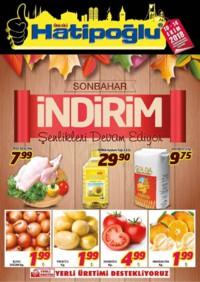 Hatipoğlu 10 - 14 Ekim 2018 Kampanya Broşürü! Sayfa 1