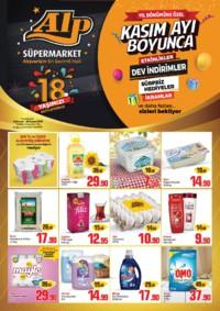 Alp Market 15 - 18 Kasım 2018 Kampanya Broşürü! Sayfa 1