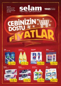 Selam Market 07 - 27 Kasım 2018 Kampanya Broşürü! Sayfa 1