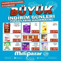 Milli Pazar Market 02 - 18 Kasım 2018 Kampanya Broşürü! Sayfa 1