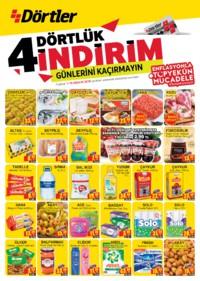 Dörtler Market 01 - 10 Aralık 2018 Kampanya Broşürü! Sayfa 1