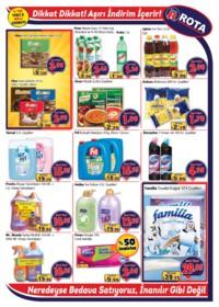 Rota Market 22 Kasım - 05 Aralık 2018 Kampanya Broşürü! Sayfa 3 Önizlemesi