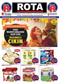 Rota Market 22 Kasım - 05 Aralık 2018 Kampanya Broşürü! Sayfa 1 Önizlemesi