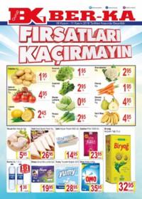 Grup Ber-ka Market 08 - 11 Kasım 2018 Kampanya Broşürü! Sayfa 1