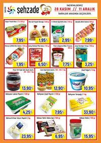 Şehzade Market 28 Kasım - 11 Aralık 2018 Kampanya Broşürü! Sayfa 2