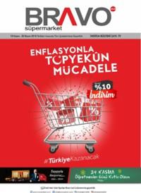 Bravo Süpermarket 10 - 30 Kasım 2018 Kampanya Broşürü! Sayfa 1
