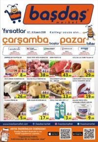 Başdaş Market 07 - 11 Kasım 2018 Kampanya Broşürü! Sayfa 1