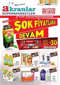 Akranlar Süpermarket 05 - 20 Kasım 2018 Kampanya Broşürü! Sayfa 1