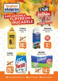 Seyhan Ekspress 02 - 11 Kasım 2018 Kampanya Broşürü! Sayfa 1