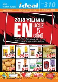 İdeal Hipermarket 02 - 06 Kasım 2018 Kampanya Broşürü! Sayfa 1