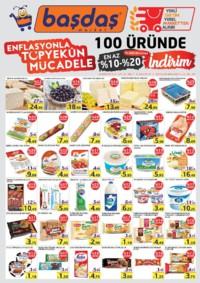 Başdaş Market 01 - 30 Kasım 2018 Kampanya Broşürü! Sayfa 1