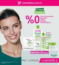 Cosmetica 01 - 30 Kasım 2018 Kampanya Broşürü! Sayfa 1