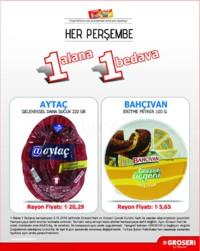 Groseri 08 Kasım 2018 1 Alana 1 Bedava Kampanya Broşürü! Sayfa 1