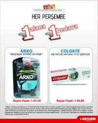 Groseri 08 Kasım 2018 1 Alana 1 Bedava Kampanya Broşürü! Sayfa 2