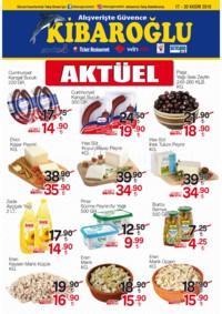 Kibaroğlu 17 - 30 Kasım 2018 Kampanya Broşürü! Sayfa 1