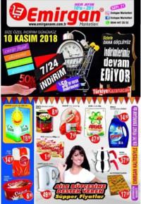 Emirgan Market 10 - 25 Kasım 2018 Kampanya Broşürü! Sayfa 1