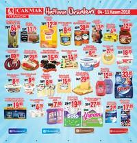 Çakmak Market 04 - 11 Kasım 2018 Kampanya Broşürü! Sayfa 1