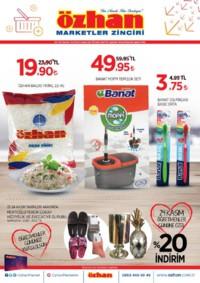 Özhan Marketler Zinciri 22 - 28 Kasım 2018 Kampanya Broşürü! Sayfa 1
