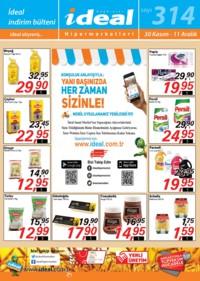 İdeal Hipermarket 30 Kasım - 11 Aralık 2018 Kampanya Broşürü! Sayfa 1