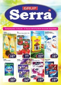 Serra Market 16 - 21 Kasım 2018 Kampanya Broşürü! Sayfa 1