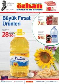 Özhan Marketler Zinciri 09 - 15 Kasım 2018 Kampanya Broşürü! Sayfa 1