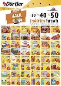 Dörtler Market 22 - 25 Kasım 2018 Kampanya Broşürü! Sayfa 1