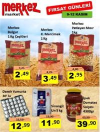 Merkez Market 09 - 12 Kasım 2018 Fırsat Ürünleri Sayfa 1